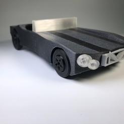 Fichier impression 3D gratuit Muscle Car, irblinX