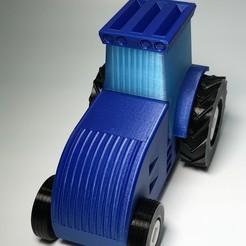 Archivos 3D gratis Tractor # 1, irblinX