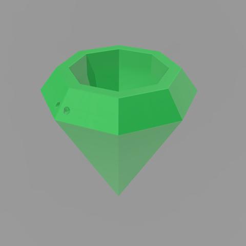 3D printer models Diamond Pot, Santiago7