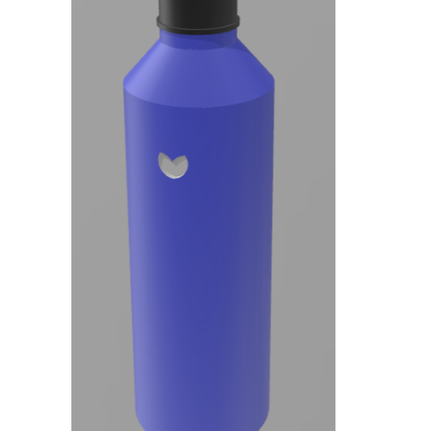 3D printing model Bottle model, Santiago7