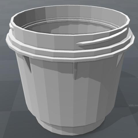 Download 3D printer designs Machine cup with thread, Santiago7