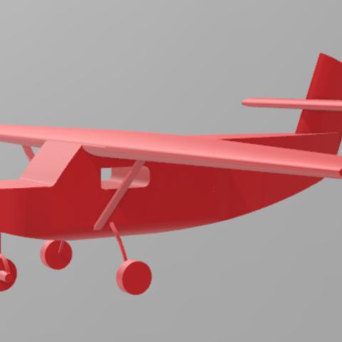 3D printer files Airplane, Santiago7