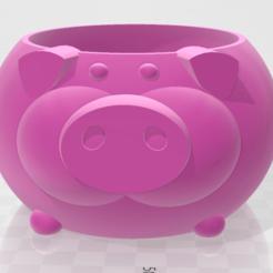 Download STL Pig Mug, Santiago7