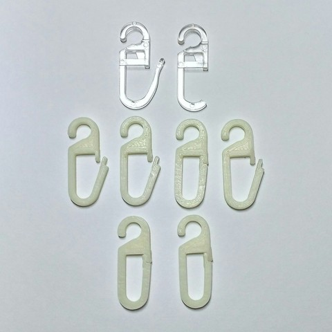 Download free 3D printing designs Hooks of tulle, Rubot3D
