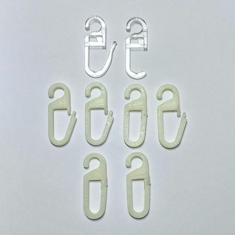 Free 3D printer designs Hooks of tulle, Rubot3D
