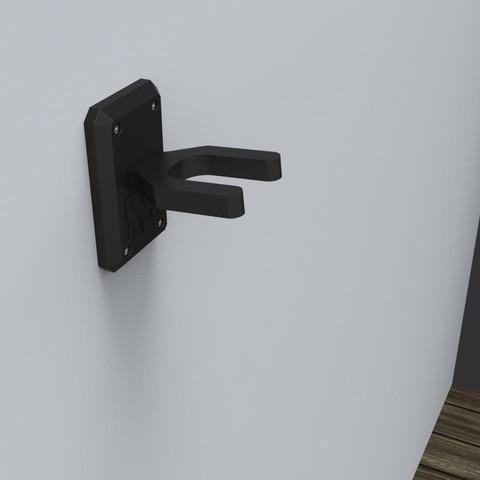 Download free 3D printer files guitar stand, marinmau