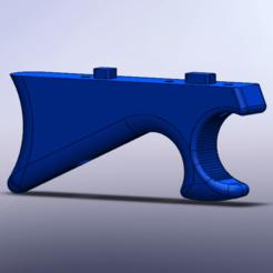 Screenshot 2021-01-02 204221.png Download STL file M-Lok Angled Foregrip • 3D printing object, RealMcCoy
