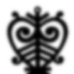 Free STL files  The Yakut national pattern, wer2