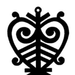 Archivo 3D El patrón nacional Yakut, wer2