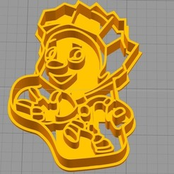 3D file Cookie Shape, wer2