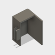 Download free 3D printing templates CR-10 Z-Axis Motor Switch Cover v1, ClavenMoo