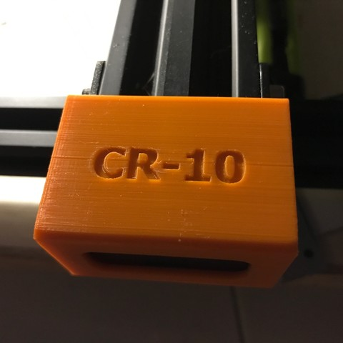 IMG_8352.JPG Download free STL file CR-10 Front Y-Pulley Cover E2 v1 • 3D printable object, ClavenMoo