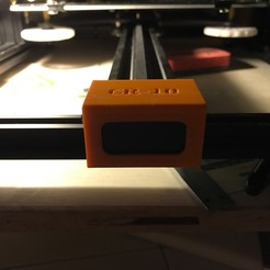 Download free 3D printer files CR-10 Front Y-Pulley Cover E2 v1, ClavenMoo