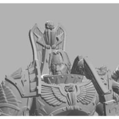 Descargar modelos 3D gratis Dios rey keanu cabeza para TMC papa de oro, case