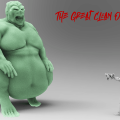Download free STL file The Great Clean One, case
