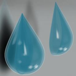 Gota_imagen.png Download free STL file Water drop • Model to 3D print, EzeSko