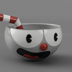 Portada.png Télécharger fichier STL gratuit Cuphead • Plan imprimable en 3D, EzeSko