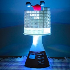 portada3.jpg Download free STL file Chemical lamp • 3D printable design, EzeSko
