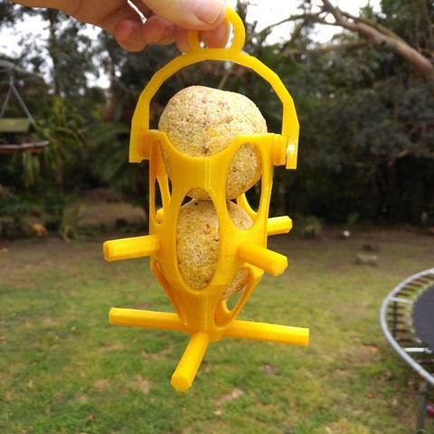 3D print model Bird Suet Feeder, simplr