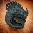 Imprimir en 3D La cabeza del dragón, Tacblades