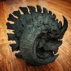 Descargar modelos 3D La cabeza del dragón, Tacblades