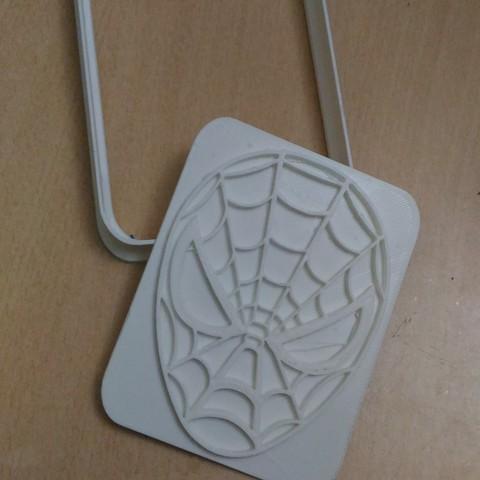 Descargar archivos 3D gratis Cortador de galletas Spiderman, AmineZed