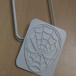 spider man cookie.jpg Télécharger fichier STL gratuit Spiderman Coupeur de biscuits • Design pour imprimante 3D, AmineZed