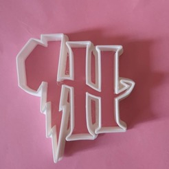 Download free 3D printer designs Harry potter HP cookie cutter, AmineZed