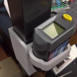 Télécharger fichier STL gratuit Thermomètre infrarouge ikea empileur sans vis, Punisher_4u