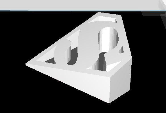 superman door stopper2.JPG Download STL file SUPERMAN door stopper • 3D print model, JOYs-3D