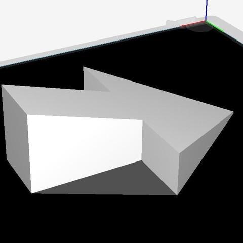arrow door stopper3.JPG Download STL file arrow door stopper • 3D printer object, JOYs-3D