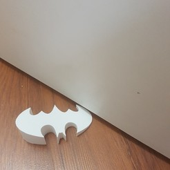 Download 3D printing models BATMAN door stopper, JOYs-3D