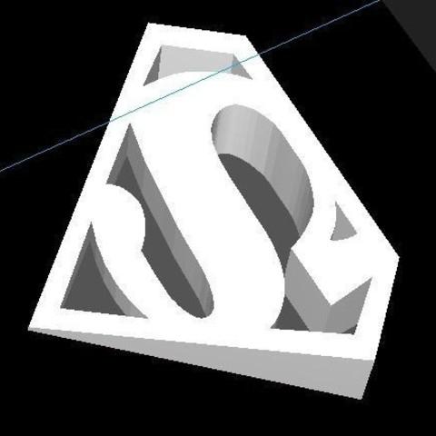 superman door stopper1.JPG Download STL file SUPERMAN door stopper • 3D print model, JOYs-3D