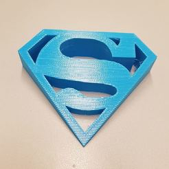Download 3D printing templates SUPERMAN door stopper, JOYs-3D
