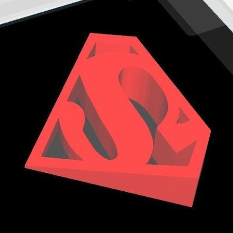 superman door stopper3.JPG Download STL file SUPERMAN door stopper • 3D print model, JOYs-3D