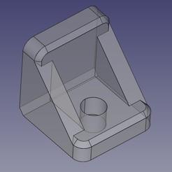 Mini-escuadra.jpg Télécharger fichier STL gratuit Mini support d'étagère en verre • Design imprimable en 3D, Loren