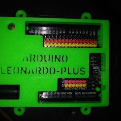 Download STL files Arduino Leonardo Plus Box, Loren