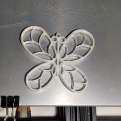 Download free 3D printer designs Butterfly, joseju06