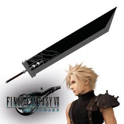 Sin título-1.png Télécharger fichier STL Deadly Cloud Sword - Final Fantasy 7 Remake • Modèle imprimable en 3D, ArtViche
