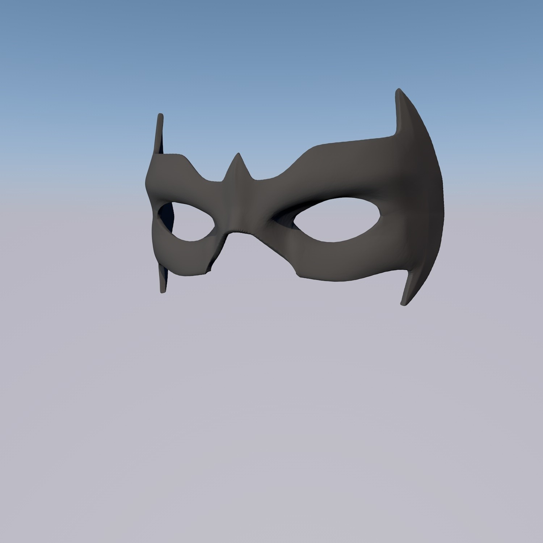 antifaz 6.jpg Download STL file MASK NIGHTWING REBIRTH 1.0 • Template to 3D print, ArtViche