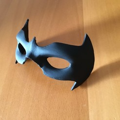 Descargar modelos 3D Mask Nightwing rebirth 1.0, bohemianwolf