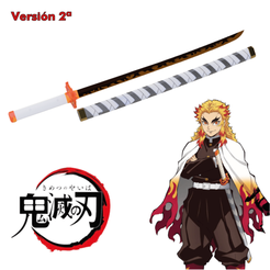Download 3D printer files Kyojuro Rengoku katana of Kimetsu no Yaiba / Demon Slayer, bohemianwolf