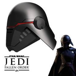 Télécharger fichier STL Casco de la segunda hermana del videojuego Jedi Ordre déchu, bohemianwolf
