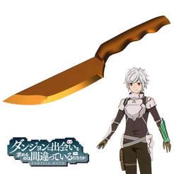 Descargar modelos 3D cuchillo Ushiwakamaru de Bel Craner de danmachi, bohemianwolf