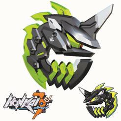 Sin título-1.jpg Télécharger fichier STL L'emblème du harceleur de Honkai a eu un impact en 3RD • Objet à imprimer en 3D, ArtViche