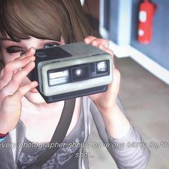 Download free 3D printer model Camera polaroid - life is strange, ArtViche