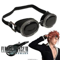 Sin título-3.png Télécharger fichier STL Lunettes de protection Reno Final Fantasy 7 Remake • Design pour impression 3D, ArtViche