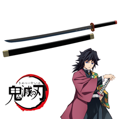 Descargar archivo 3D katana de Giyu Tomioka de Kimetsu no Yaiba / Demon Slayer, bohemianwolf