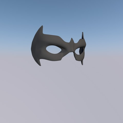 3d printer model MASK NIGHTWING REBIRTH 1.0, bohemianwolf