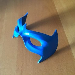 3D printing model MASK NIGHTWING REBIRTH 2.0, bohemianwolf